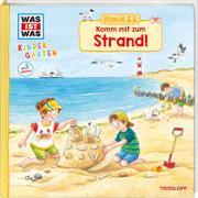 Cover-Bild zu WAS IST WAS Kindergarten Band 22. Komm mit zum Strand! von Schreuder, Benjamin