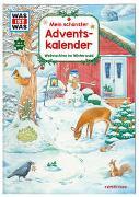 Cover-Bild zu WAS IST WAS Mein schönster Adventskalender von Wenzel, Ida