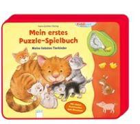 Cover-Bild zu Mein erstes Puzzle-Spielbuch. Meine liebsten Tierkinder von Döring, Hans-Günther
