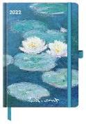 Cover-Bild zu Claude Monet 2022 - Buchkalender - Taschenkalender - Kunstkalender - 16x22 von Monet, Claude
