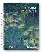Cover-Bild zu Claude Monet 2022 - Diary - Buchkalender - Taschenkalender - 16,5x21,6 von Monet, Claude
