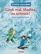 Cover-Bild zu Guck mal, Madita, es schneit! von Lindgren, Astrid