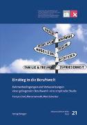 Cover-Bild zu Einstieg in die Berufswelt von Stoll, François