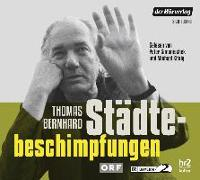 Cover-Bild zu Bernhard, Thomas: Städtebeschimpfungen
