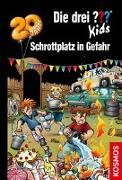 Cover-Bild zu Die drei ??? Kids, 78, Schrottplatz in Gefahr von Blanck, Ulf