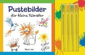 Cover-Bild zu Pustebilder für kleine Künstler-Set. Mit 4 Kleckspipetten von Pautner, Norbert
