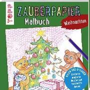 Cover-Bild zu Zauberpapier Malbuch Weihnachten von Pautner, Norbert