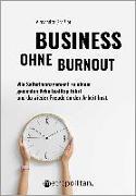 Cover-Bild zu Business ohne Burnout von Graßler, Alexandra