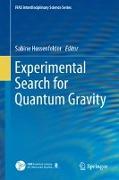 Cover-Bild zu Experimental Search for Quantum Gravity von Hossenfelder, Sabine (Hrsg.)