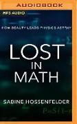 Cover-Bild zu Lost in Math: How Beauty Leads Physics Astray von Hossenfelder, Sabine