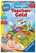 Cover-Bild zu Haferkamp, Kai: Ravensburger 24996 - Rund ums Taschengeld - Spielen und Lernen für Kinder, Lernspiel für Kinder ab 6-10 Jahren, Spielend Neues Lernen für 2-4 Spieler