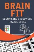Cover-Bild zu Brain Fit | Sudoku and Crossword Puzzle Books von Senor Sudoku