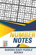 Cover-Bild zu Number Notes | Sudoku Easy Puzzle Books von Senor Sudoku