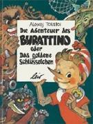 Cover-Bild zu Die Abenteuer des Burattino von Tolstoi, Alexej