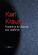 Cover-Bild zu Gesammelte Glossen und Aufsätze (eBook) von Kraus, Karl