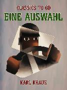Cover-Bild zu Eine Auswahl (eBook) von Kraus, Karl