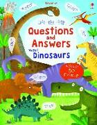 Cover-Bild zu Lift-the-flap Questions and Answers about Dinosaurs von Daynes, Katie