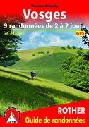 Cover-Bild zu Vosges - 9 randonnées de 2 à 7 jours von Striebig, Thomas