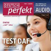 Cover-Bild zu Steinbach, Andrea: Deutsch lernen Audio - TestDaF, Mündlicher Ausdruck (Audio Download)