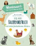 Cover-Bild zu Mein erstes Bauernhofbuch. Mit vielen fantastischen Stickern von Piroddi, Chiara