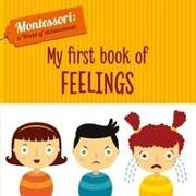 Cover-Bild zu My First Book of Feelings (Montessori World of Achievements) von Piroddi, Chiara
