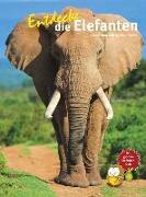 Cover-Bild zu Entdecke die Elefanten von Schulz, Arno