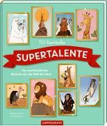Cover-Bild zu 50 tierische Supertalente von Jenkins, Martin