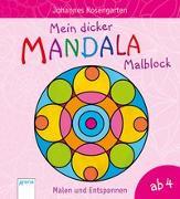 Cover-Bild zu Mein dicker Mandala-Malblock von Rosengarten, Johannes