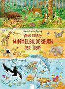 Cover-Bild zu Mein großes Wimmelbilderbuch der Tiere von Döring, Hans-Günther