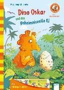 Cover-Bild zu Der Bücherbär. Erstleserbücher für das Lesealter Vorschule/1. Klasse / Dino Oskar und das geheimnisvolle Ei von Kaup, Ulrike