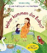 Cover-Bild zu Erstes Aufklappen und Verstehen: Woher kommen die Babys? von Daynes, Katie