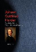 Cover-Bild zu Gesammelte Werke Johann Gottfried Herders (eBook) von Herder, Johann Gottfried
