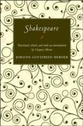 Cover-Bild zu Shakespeare (eBook) von Herder, Johann Gottfried