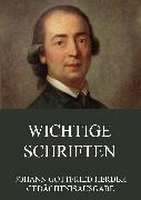 Cover-Bild zu Wichtige Schriften (eBook) von Herder, Johann Gottfried