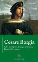Cover-Bild zu Cesare Borgia von Neumahr, Uwe