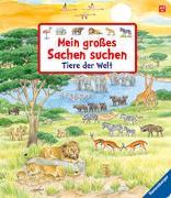 Cover-Bild zu Gernhäuser, Susanne: Mein großes Sachen suchen: Tiere der Welt
