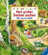Cover-Bild zu Gernhäuser, Susanne: Mein großes Sachen suchen: Bei uns im Wald