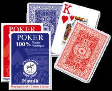Cover-Bild zu Poker Spielkarten. Plastic. Jumbo Index