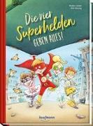 Cover-Bild zu Lückel, Kristin: Die vier Superhelden geben alles!