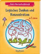 Cover-Bild zu Lückel, Kristin: Mein Vorschulblock - Logisches Denken und Konzentration