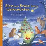 Cover-Bild zu Lückel, Kristin: Rica und Bruno feiern Weihnachten