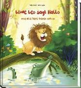 Cover-Bild zu Lückel, Kristin: Löwe Leo sagt Hallo und alle Tiere freuen sich so