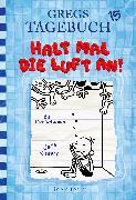 Cover-Bild zu Gregs Tagebuch 15 - Halt mal die Luft an! (eBook) von Kinney, Jeff