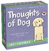 Cover-Bild zu Thoughts of Dog 2021 Day-to-Day Calendar von Nelson, Matt