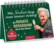 Cover-Bild zu Bergmann, Renate: Mit Socken liegt man immer richtig! Mit Renate Bergmann durch den Advent