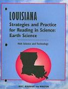 Cover-Bild zu Holt Science and Technology: Earth Science, Louisiana Strategies and Practice for Reading in the Sciences von Lindsay, Joan Marie (Hrsg.)