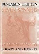 Cover-Bild zu Seven Sonnets of Michelangelo von Britten, Benjamin (Komponist)