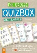 Cover-Bild zu Die große Quizbox für Senioren von Mötzing, Gisela