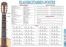 Cover-Bild zu Klassikgitarren-Poster von Voggenreiter Verlag (Hrsg.)