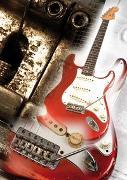 Cover-Bild zu Vintage Guitar-Poster 1 von Voggenreiter Verlag (Hrsg.)